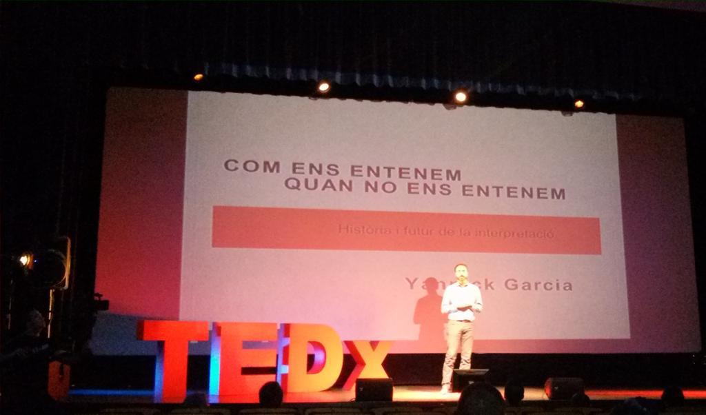 Com ens entenem quan no ens entenem #tedxamp @yannickgp @TEDxAmposta http://t.co/i2J1PsttSm