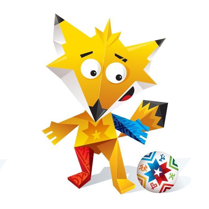 Zinha, mascote da Copa América 2015.