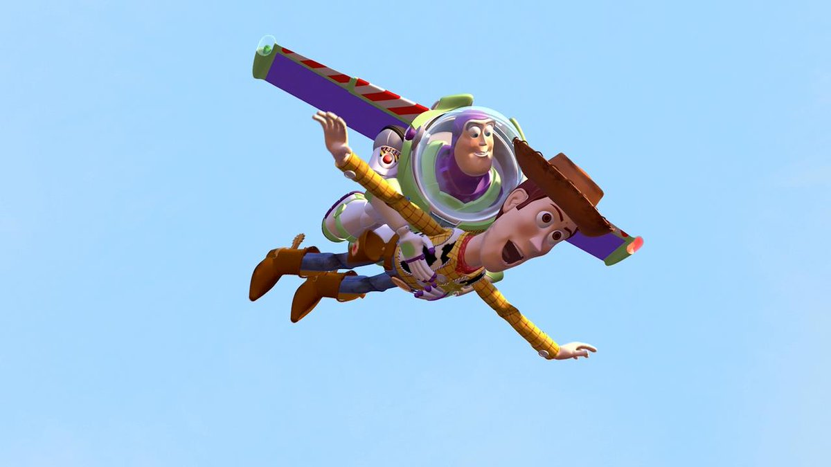 Image result for buzz lightyear flying