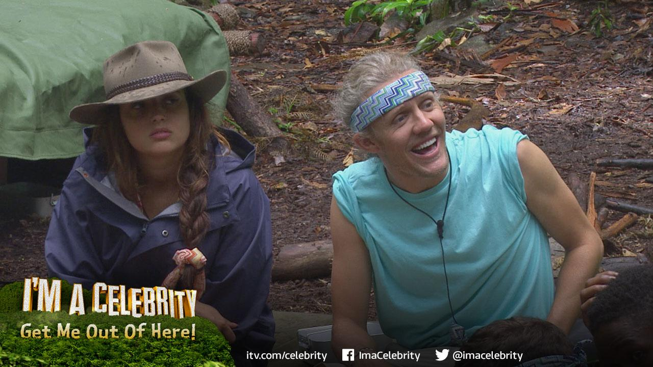 "Jimmy's ""We all love the jungle"",what's your favourite #ImACeleb Campmate musical masterpiece? http://t.co/W4Kas2pxB8 http://t.co/0siiHJmWF2"