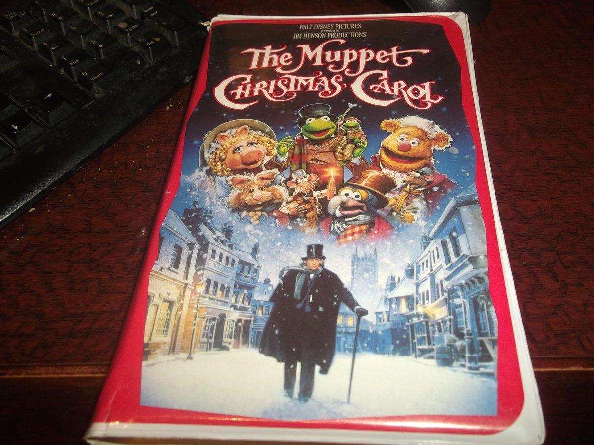 Muppet Christmas Carol Vhs.Vhs Vitriol Vhsvitriol Twitter