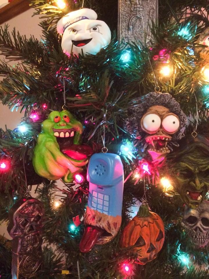 Horror Christmas Ornaments.Broke Horror Fan On Twitter Handmade Horror Christmas