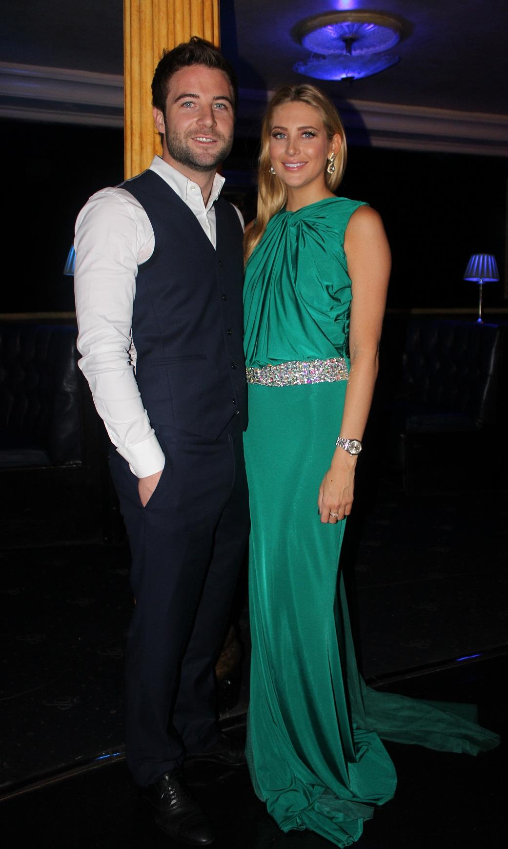 SUPER GLAM! @joshshepherd88 and @stephaniepratt #madeinchelsea http://t.co/5bteyJlPKK