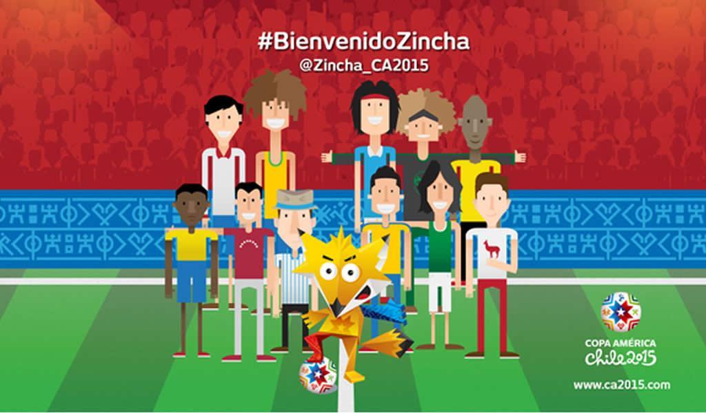 Damos a vem vinda da Zincha 2015.