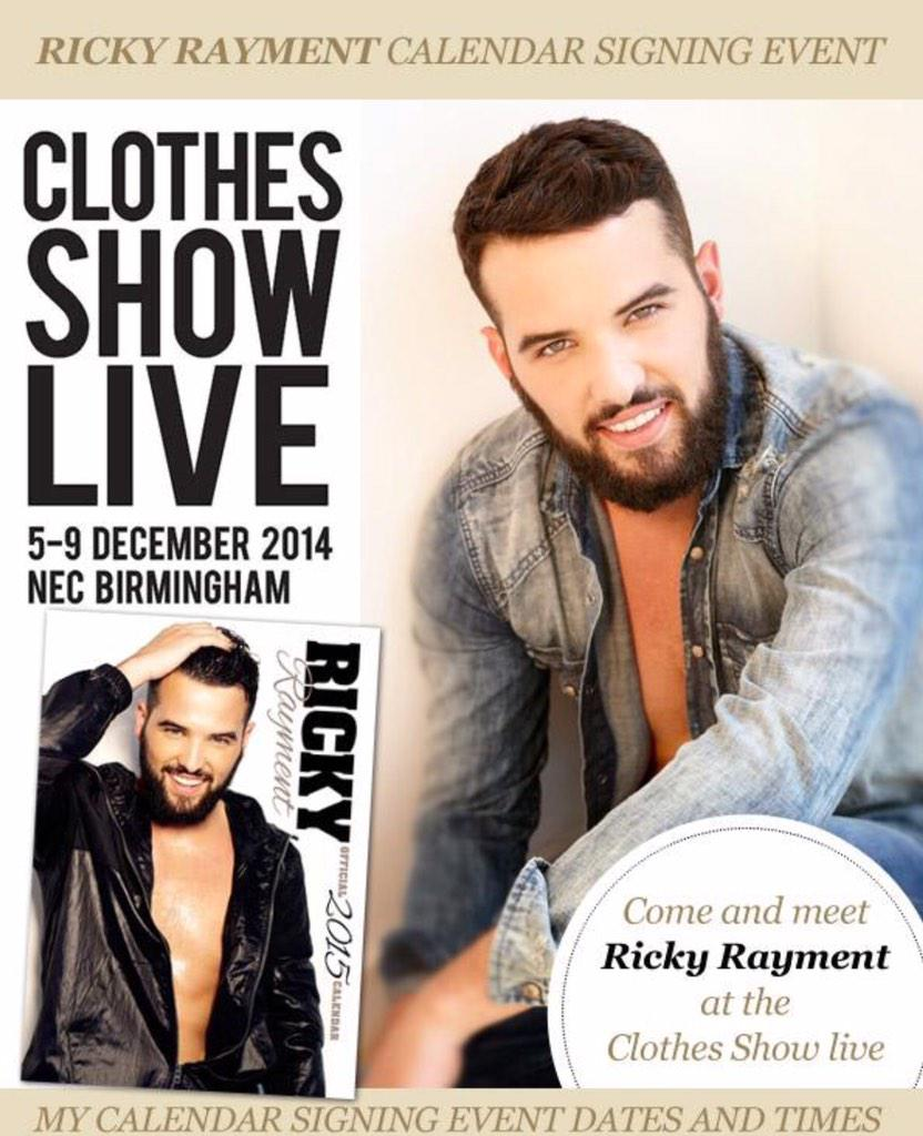 RT @Ballstocancer: Fancy getting a signed copy of @RickyRayment Calendar? Simply follow us both & retweet Ricky picks winner Monday 8pm htt…