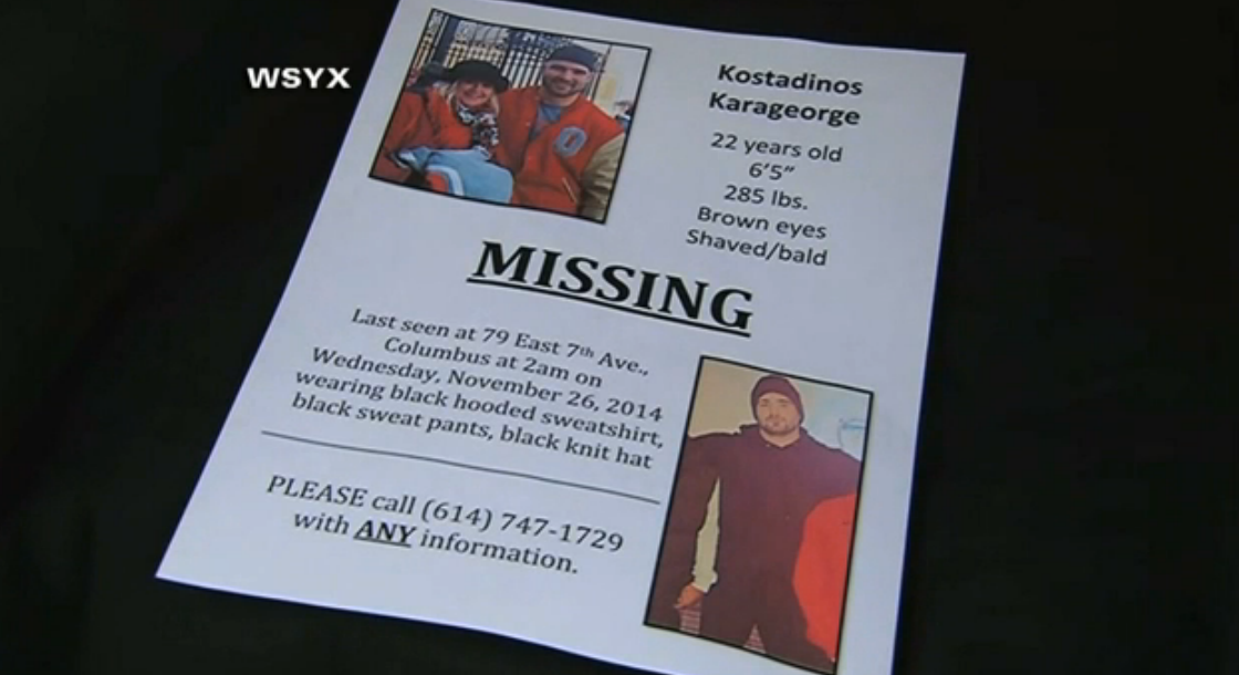Ohio State senior lineman is missing & hasn't been seen since Wednesday morning »  http://t.co/YagXMSiBP0 http://t.co/P9lPR30erz