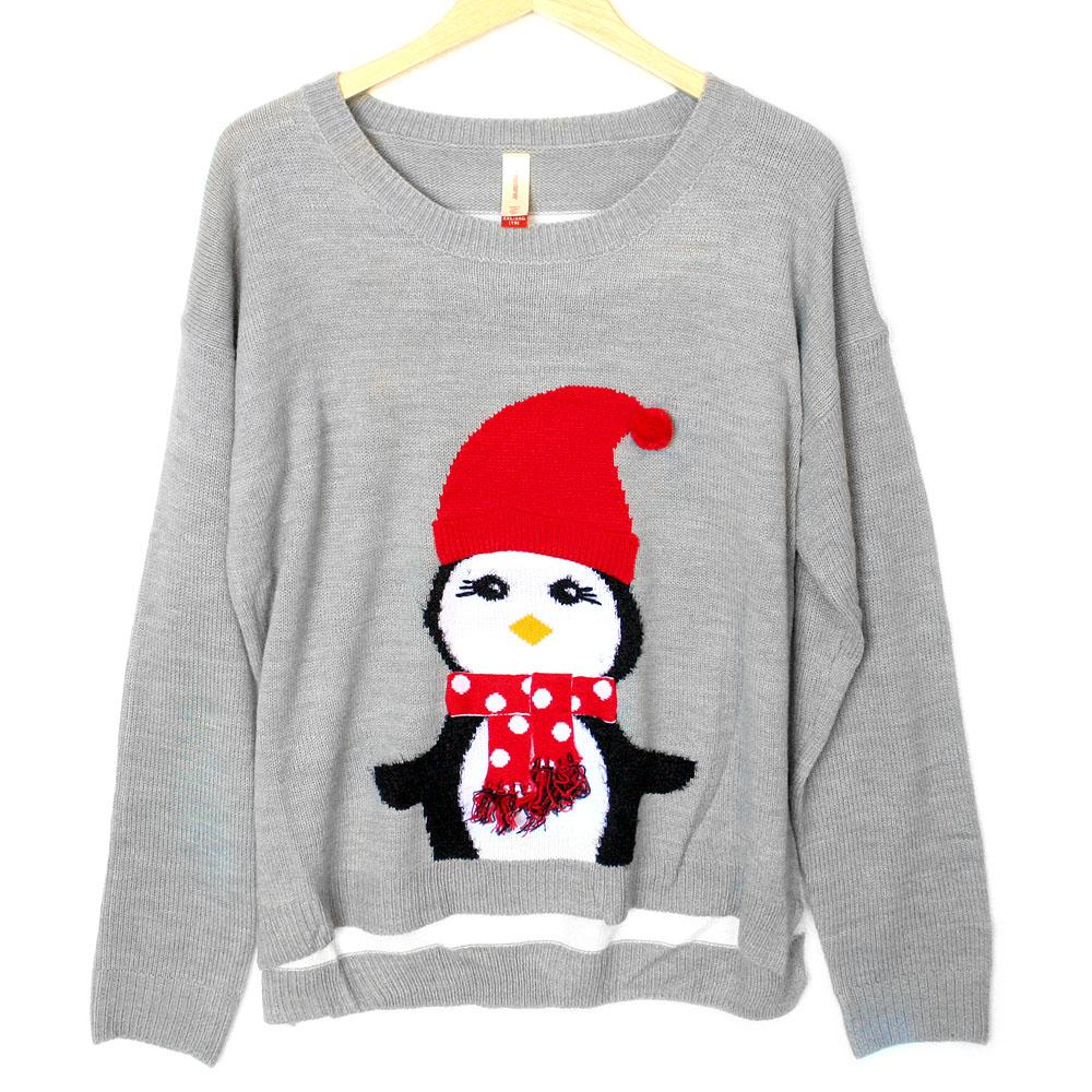 Sometimes #penguins get chilly too http://t.co/DCtmpSBVBC #christmas #uglychristmassweater #uglysweaterparty