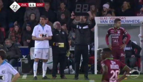 Trajkovski gets ready to enter the game