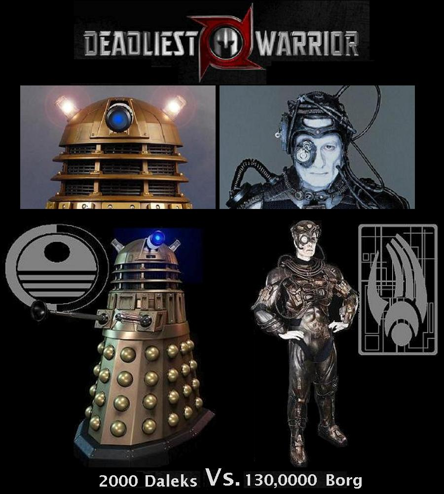 Owen wildish on twitter daleks vs borg resistance is - We are the borg quote ...
