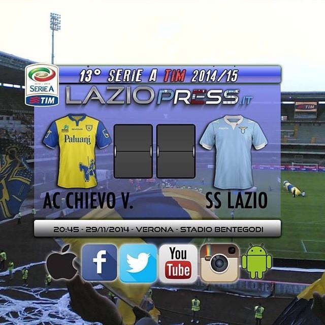 DIRETTA Chievo-Lazio RojaDirecta: info tv streaming calcio. Domani Juve-Toro