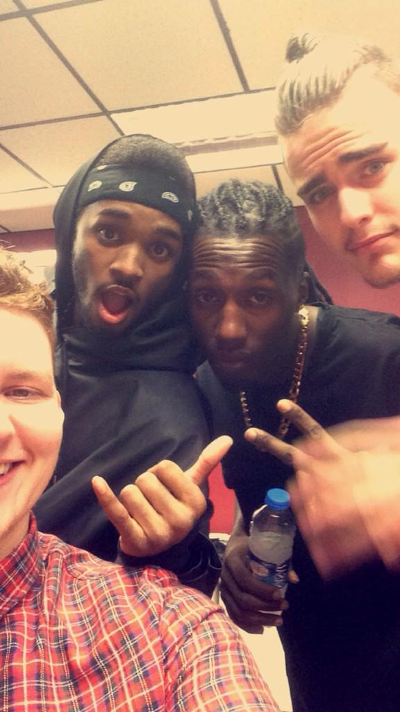 RT @conormcconnell: @RoughCopyUK what's happenin brors, can't wait until we go on tour with you's! http://t.co/rhvNt0xF9o