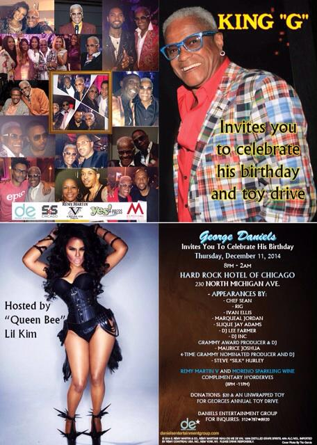 This is gonna be MY BEST FUNDRAISER & TOY DRIVE EVER LIL KIM IS SO EXCITED TO HOST FOR HER UNCLE GEORGE YALL READY RT http://t.co/QxzRaIlDUN