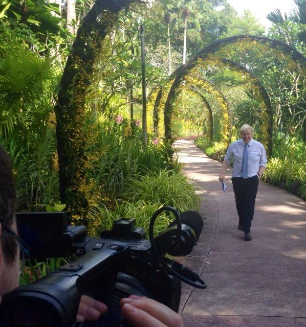 Fantastic visit this morning to Singapore's botanical garden to promote  scientific and research links with Kew http://t.co/NDgK36lQhX