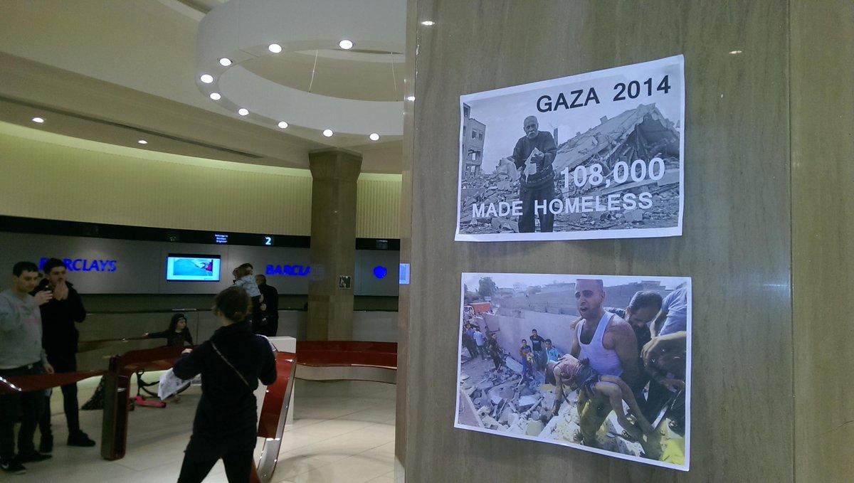 Barclays helps kill Palestinians #StopArmingIsrael http://t.co/GR9HWG8QlT
