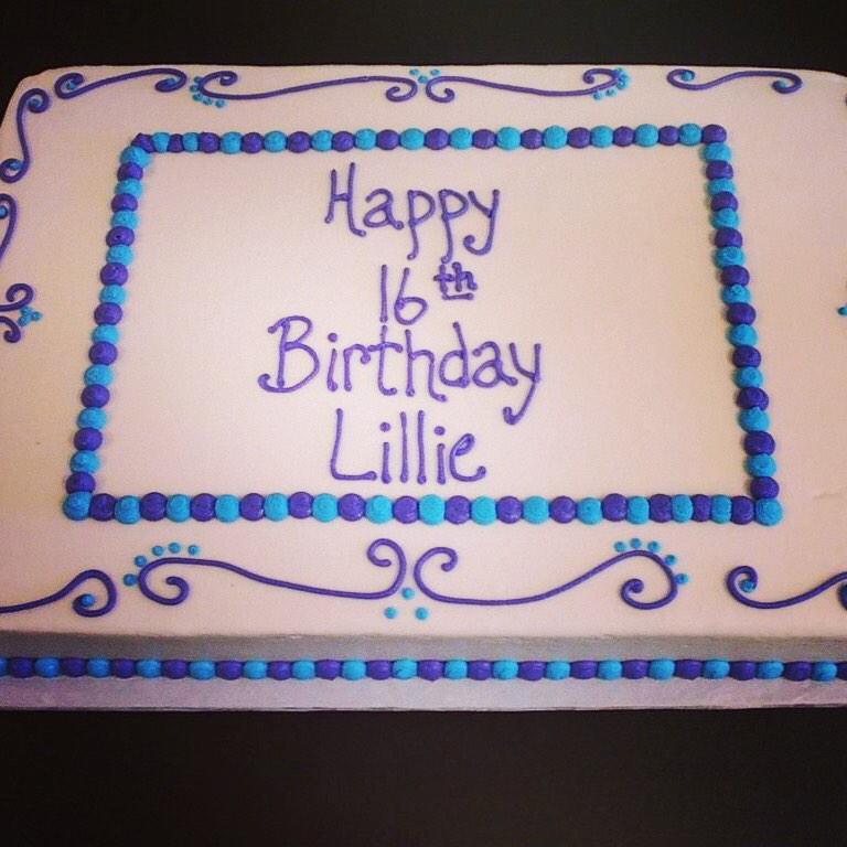 Honeys Babycakes on Twitter Birthday cakes for girls Sheet
