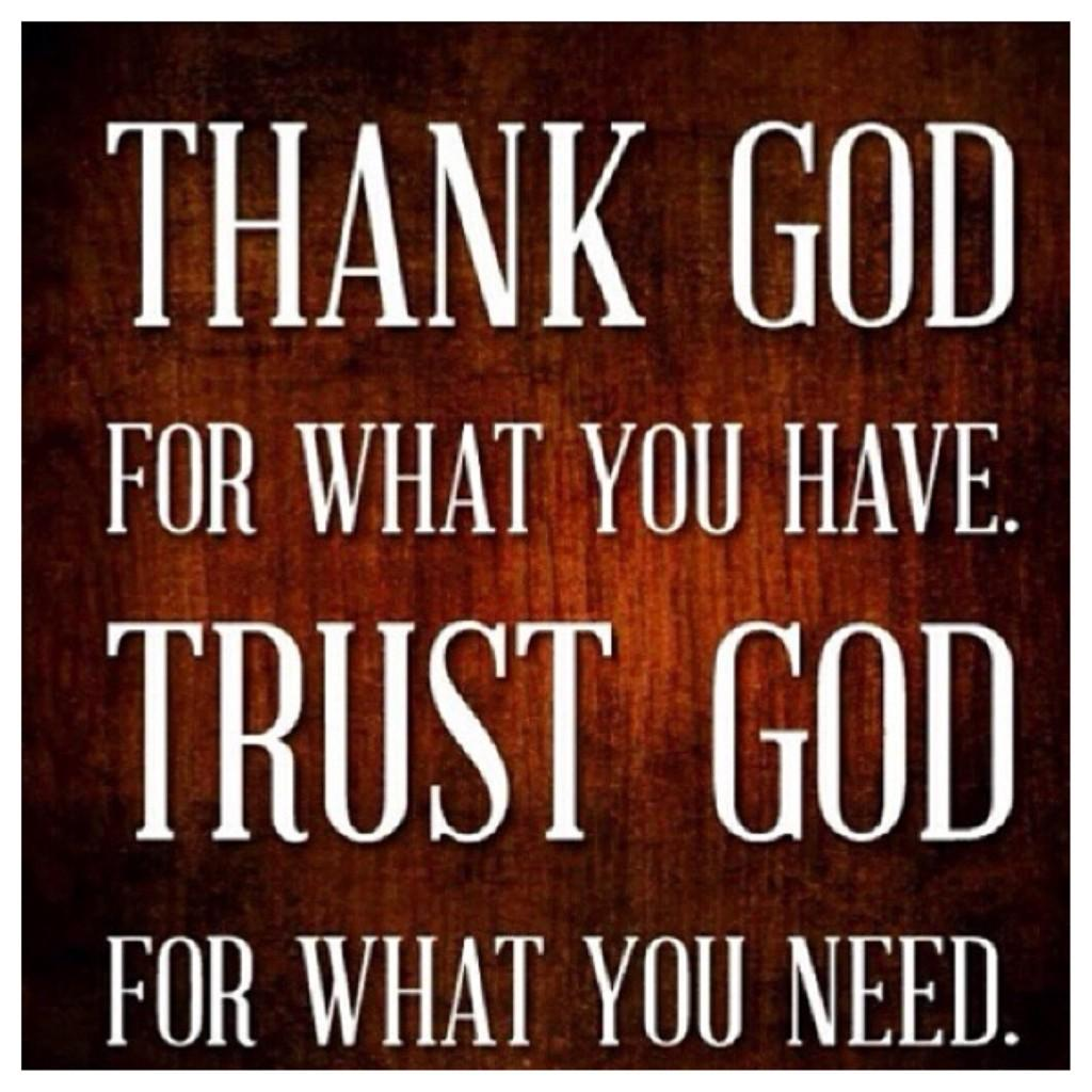 Inky Johnson On Twitter Thank God For What You Have Trust God For