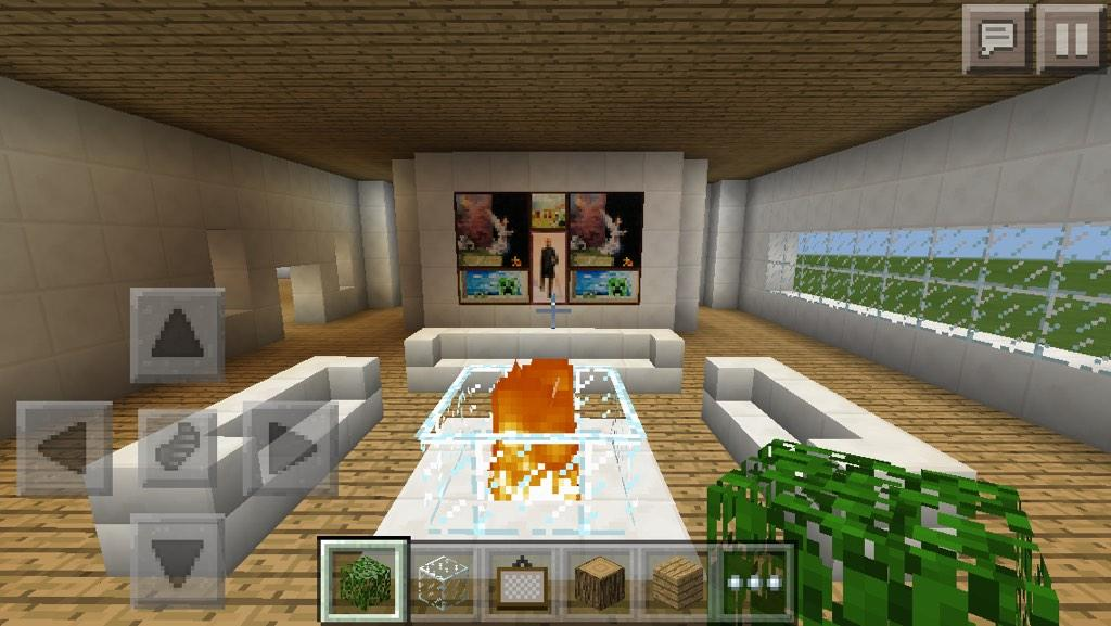 Minecraft Pe House On Twitter Cool Room Design Http T Co Qujb0zwvft