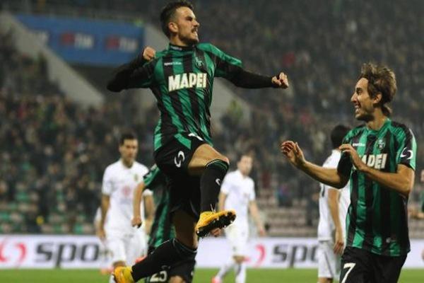 Sassuolo 2 – 1 Hellas Verona risultato esatto di Serie A