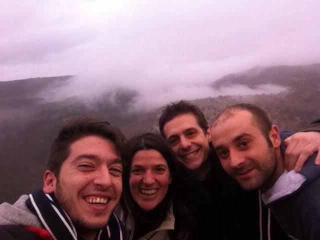 Gracias a @juantwittea y el chef dl estupendo @las_majadas x mostrarnos stos entrecortantes paisajes. #cuencaenamora http://t.co/W1a9iCXXVM