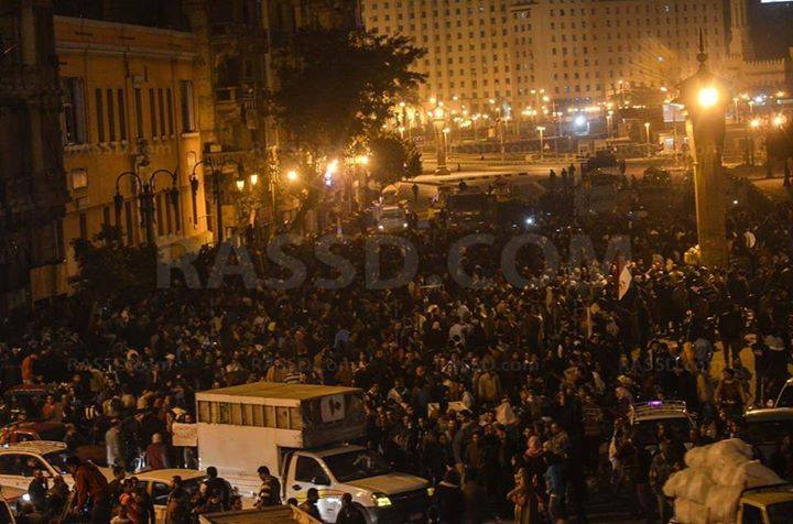 How the entrance to Tahrir looks now. http://t.co/zLWdaABei1
