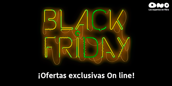 ONO Black Friday 2014
