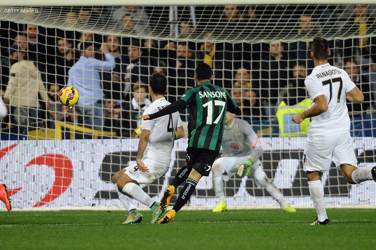 Video Sassuolo-Verona 2-1, antipasto della 13a che oggi vede la diretta di Juventus-Torino e Roma-Inter