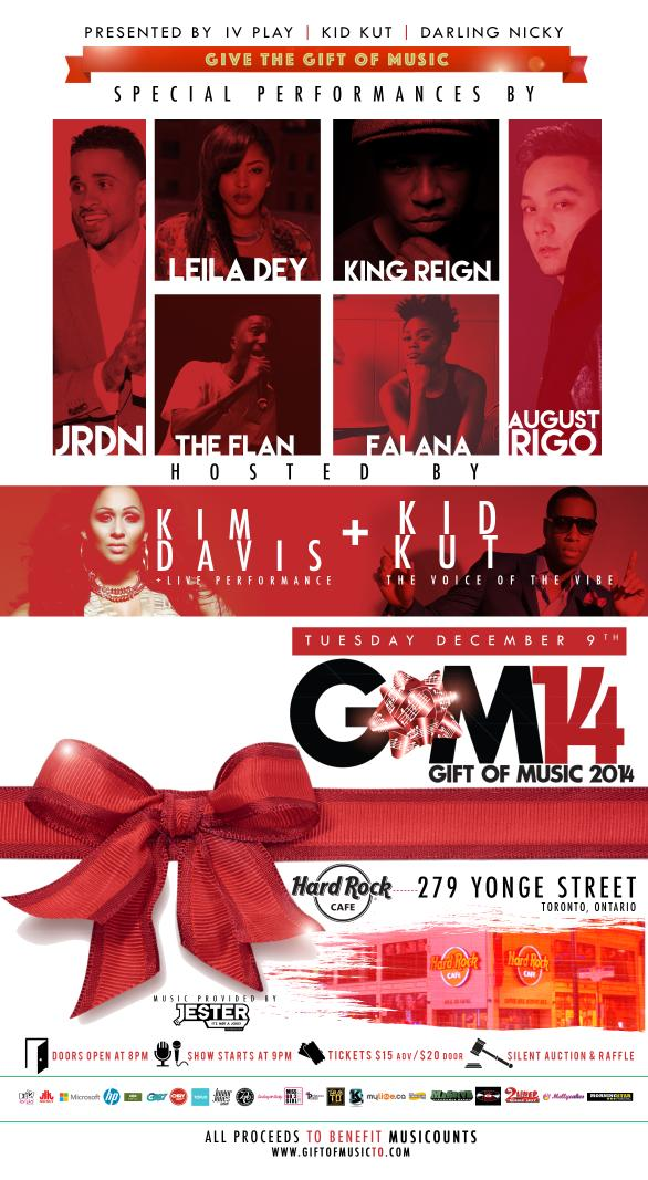 Really hoping that on Tuesday Dec. 9th - you'll join us for our 5th Annual Charity Urban Music Showcase #GiftOfMusic. http://t.co/lAe4eqEn3Z