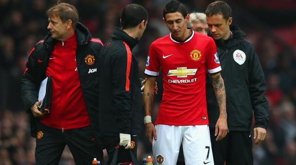 Inglaterra | Preocupación en el United por la lesión de Di María