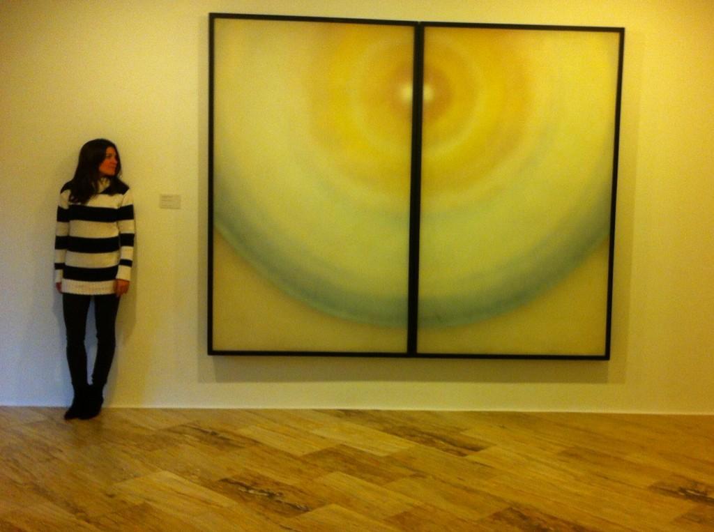 #Inlove con el artista #Torner cuya obra podéis ver en el Museo Abstracto d Cuenca. #cuencaenamora @CuencaAbstracta http://t.co/b0XNE31TeB