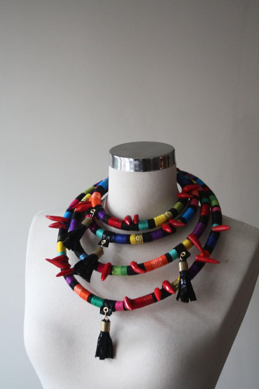 African Inspired Necklace African Inspired Necklace