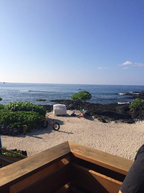 Not in a hurry to leave. Two weeks in paradise. Back to reality. See you soon Kohanaiki. Love Kona. http://t.co/5VboRc1T9U