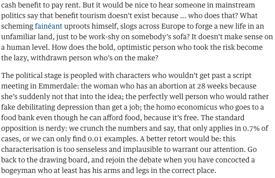 BANG on from @zoesqwilliams. No one buys this shit, it just gives people the excuse to Not Think. Via @archiebland http://t.co/mCMAjcJQmg