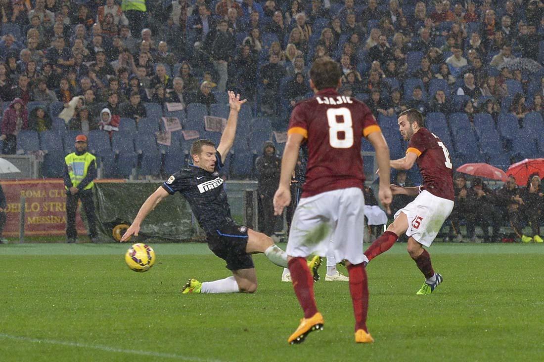 Risultato Roma Inter in diretta live video gol calcio in tempo reale serie a.
