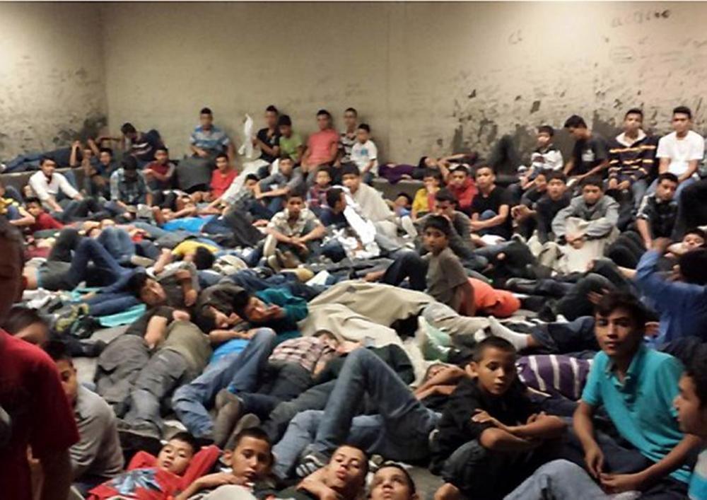 Niños emigrantes en EE.UU