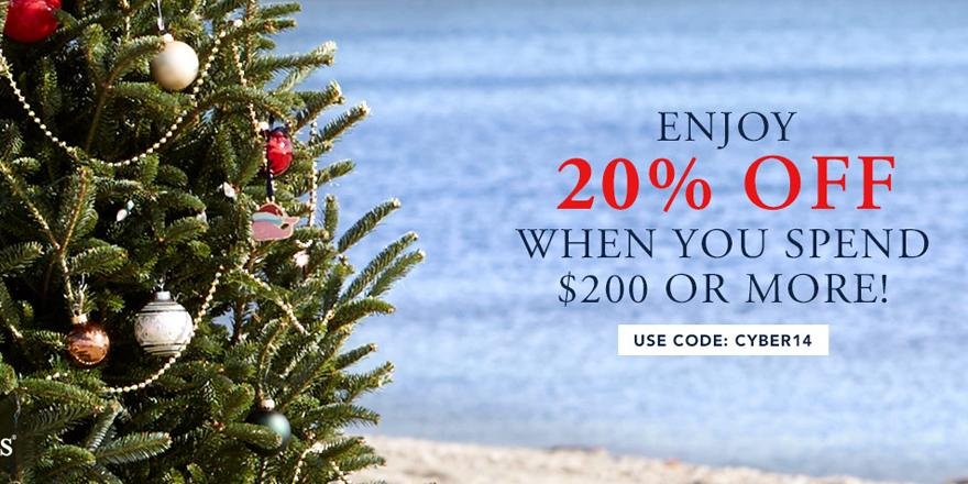 We're starting #CyberMonday now! Enjoy 20% off your order of $200 or more with code: CYBER14 http://t.co/yBjJCaETkn http://t.co/zxrtqb2ZAJ
