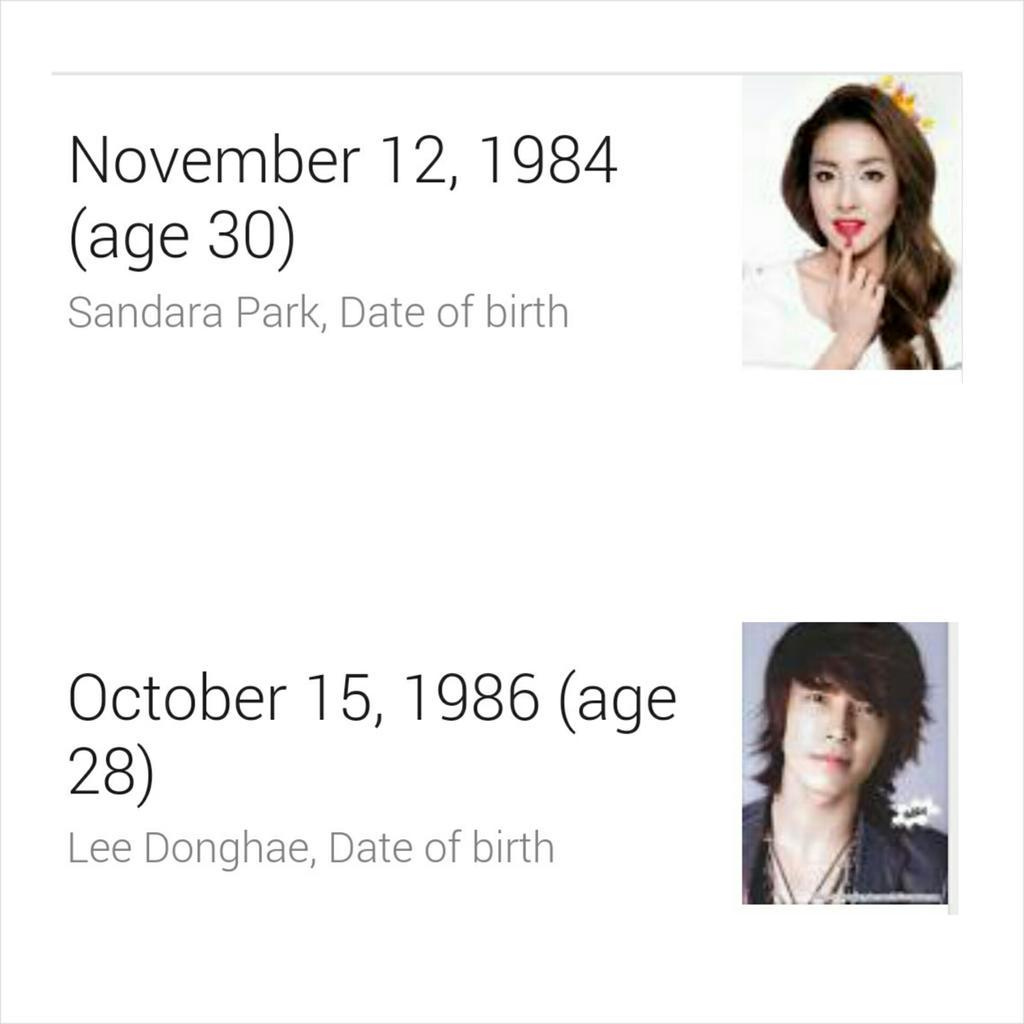donghae și dara dating coworker pe site- ul de dating