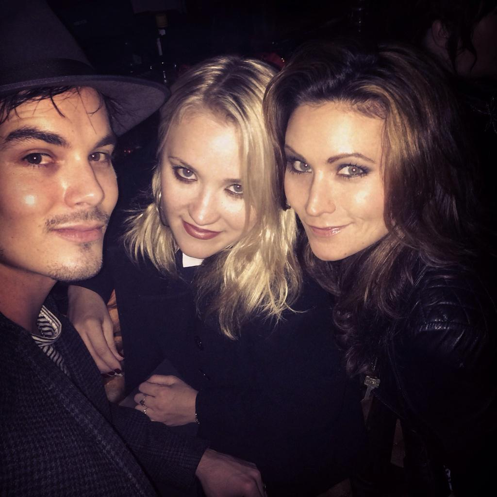 At the @liayn_themovie wrap party with @EmilyOsment & @tylerjblackburn #loveisallyouneedthemovie #loveisallyouneed http://t.co/TOIuu8Bl6g