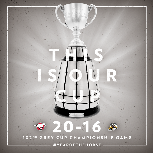 Mission Complete. Stamps win 102nd Grey Cup! #YearOfTheHorse #GreyCup http://t.co/Z133O5stq9