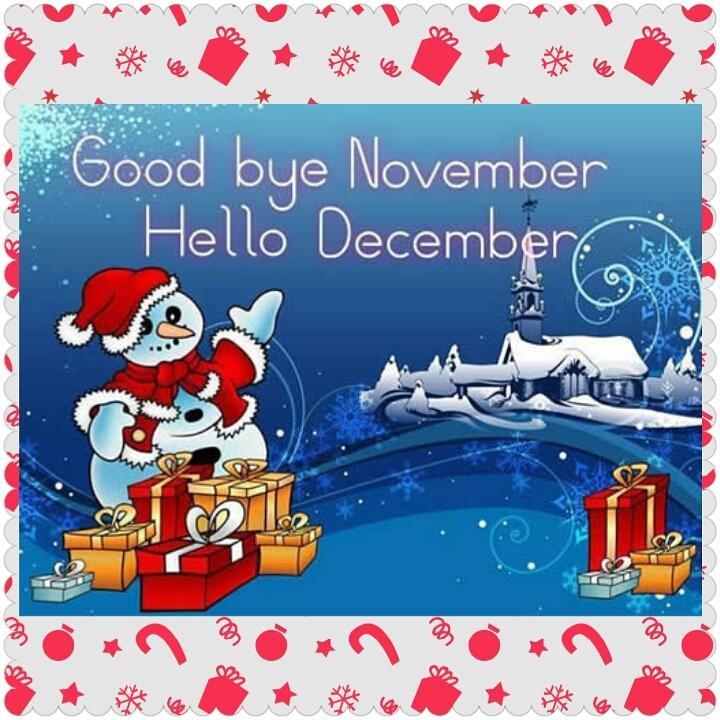 ʆivia Arantes On Twitter Goodbye November Hello December