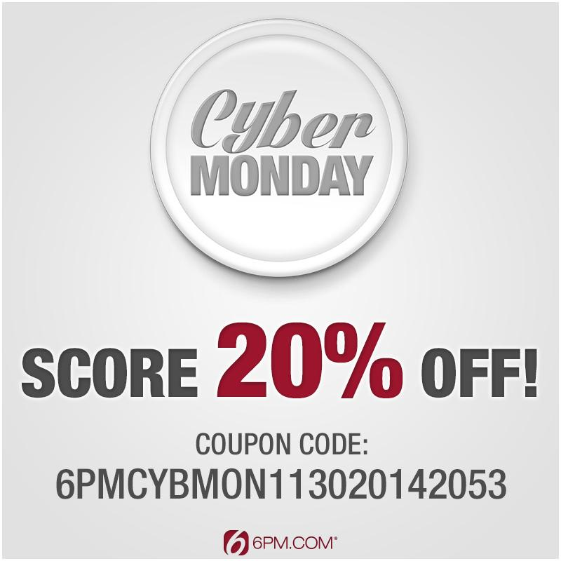 Score 20% off this #CyberMonday with code 6PMCYBMON113020142053, valid for today only! http://t.co/tidpi5H5Ol http://t.co/rHmuWIRhOa