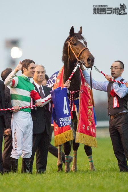 【ジャパンC(G1)アラカルト】第34回はエピファネイアの勝利で、関西馬は16勝目。ちなみに外国馬14勝、関東馬4勝となっている。