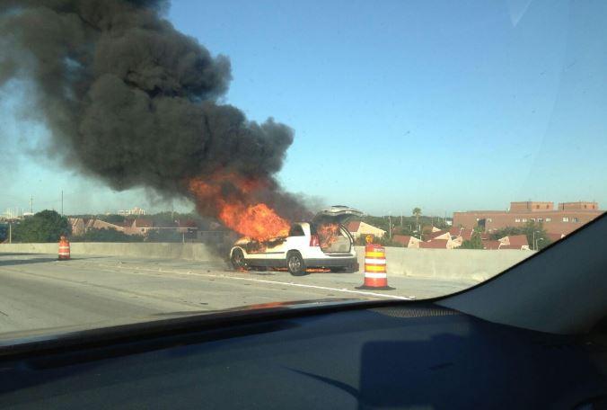 Ashley Drive Tampa : Southbound traffic slowed Ashley Drive