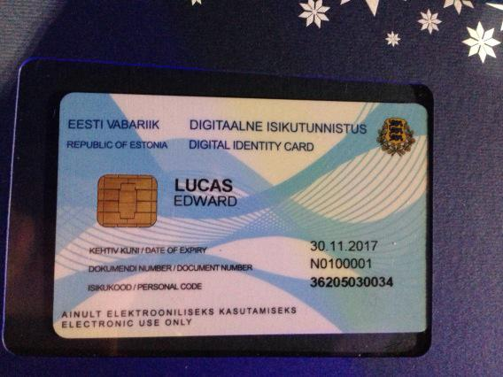 This Man Is the First E-Resident in the World
