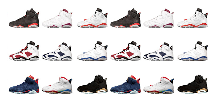 discount solecollector on twitter whats your favorite air jordan 6 colorway  view them all in our 137174a7b7