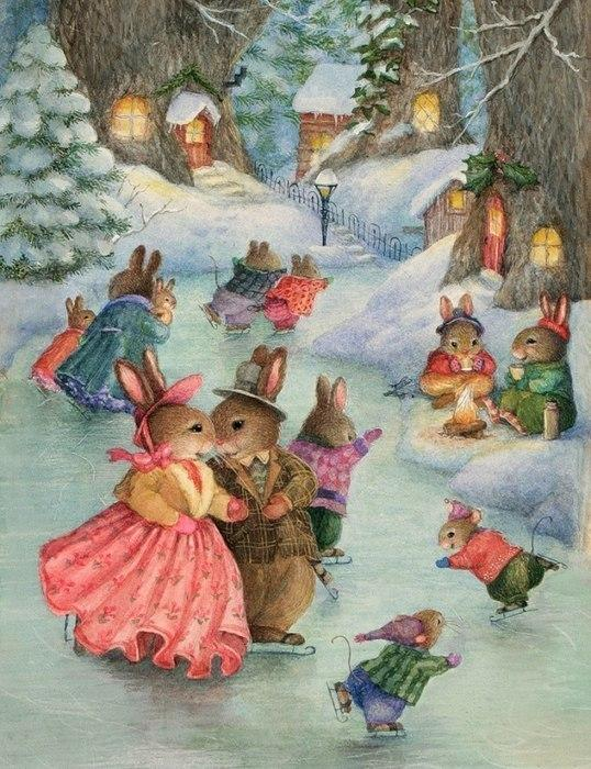 Картинки детские зимние сказки, открытки для надежды