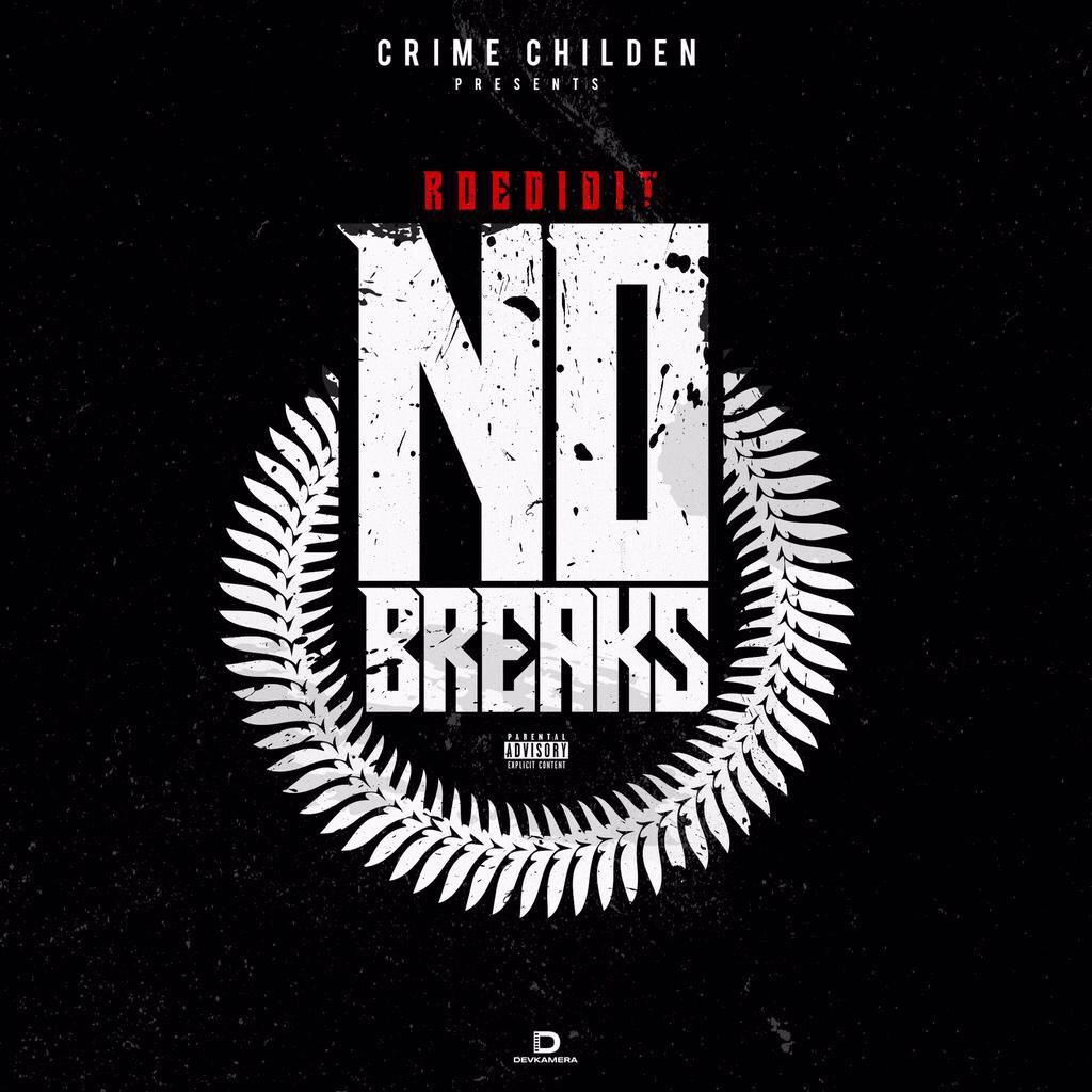 @RoeDidItMusic dropping tonight &quot;No Breaks&quot; EP #CrimeChildren <br>http://pic.twitter.com/AcQ1zygx4X
