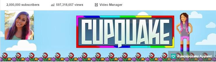 Our channel has reached 2 Million Subscribers! @iHasCupquake and I are very thankful for all your support! THANK YOU! http://t.co/iZyOApAU0o