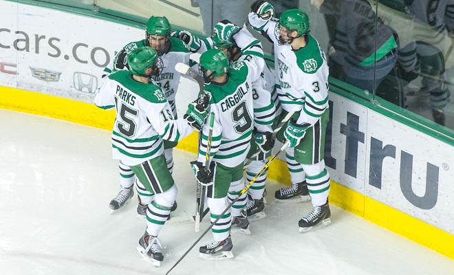 North Dakota takes over the No. 1 spot in the http://t.co/Ts5H11tBCK Division I Men's Poll. http://t.co/Mk75R0O704 http://t.co/kJYZoVxqnc