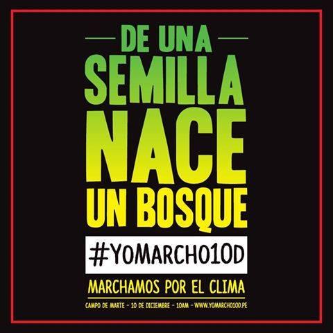 De una semilla nace un bosque #Yomarcho10D #Muevetepor #solucionesreales al #cambioclimatico http://t.co/G4SMojmAZZ