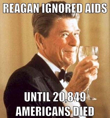 reagan and aids In 1987, the actress elizabeth taylor, who was serving as the national chairman of the american foundation for aids research (amfar), wrote the following letter to president reagan, asking him to deliver a speech at a fundraising dinner amfar was holding in washington dc.